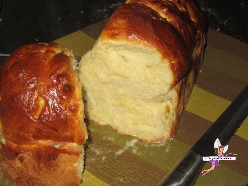 Brioche extra moelleuse yumelise recettes de cuisine - Brioche machine a pain ...