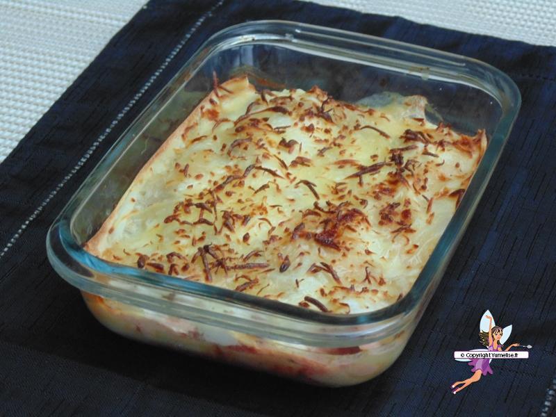 lasagnes saumon plat entier