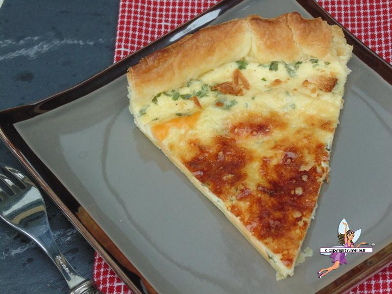 tarte trois fromages