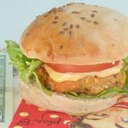 burger vege chat a l une