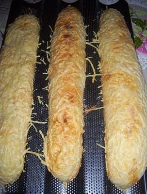 baguettes faciles chorizo et gruyere jocelyne lejamble