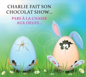 charlie fait son choccolat show