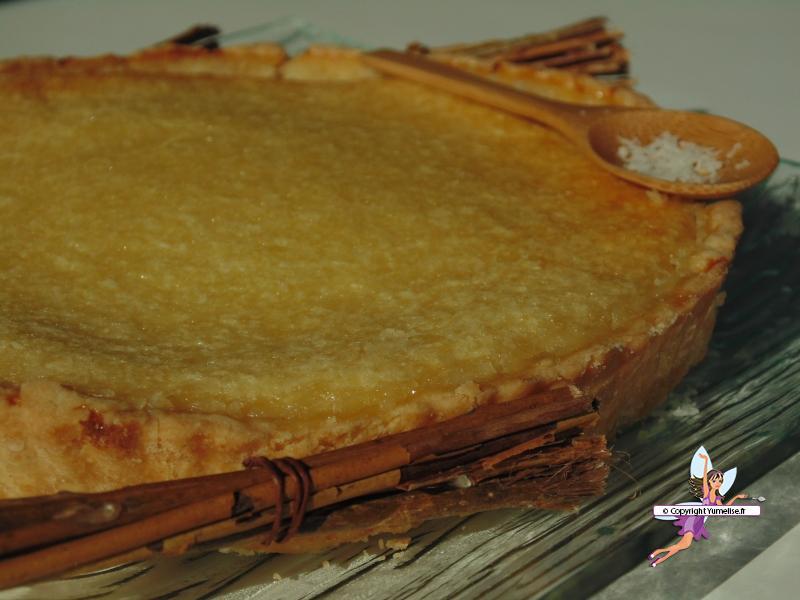 tarte coco une