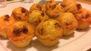 muffins chorizo gruyere virginie rouaix