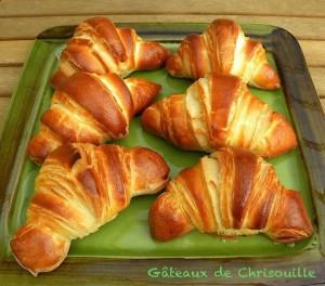 croissants gâteaux de chrisouille