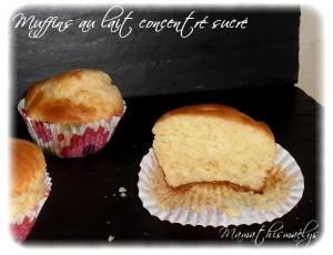 muffins au lait concentre sucre la petite cuisine de nini