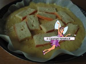 préparation flamiche maroilles