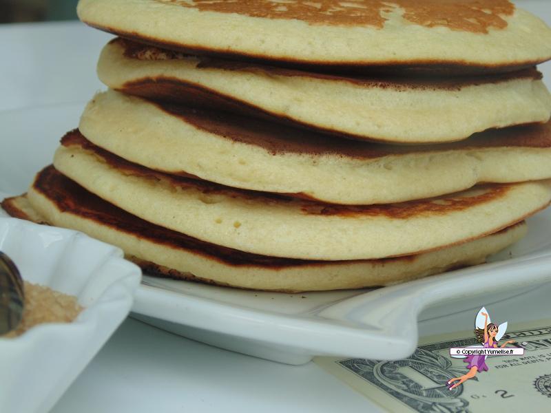 pancakes gros plan