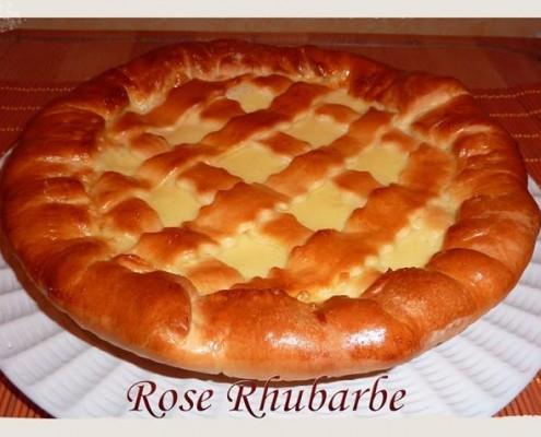 tarte libouli rose rhubarbe (temperence duran)