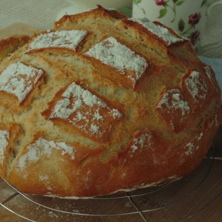 pain cuit en cocotte