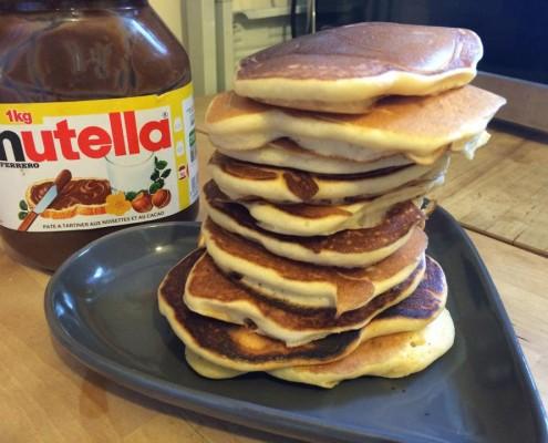 pancakes van cacahuet