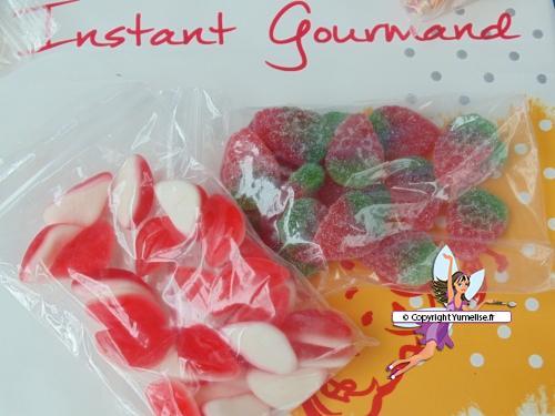 bonbons fraises et bouches