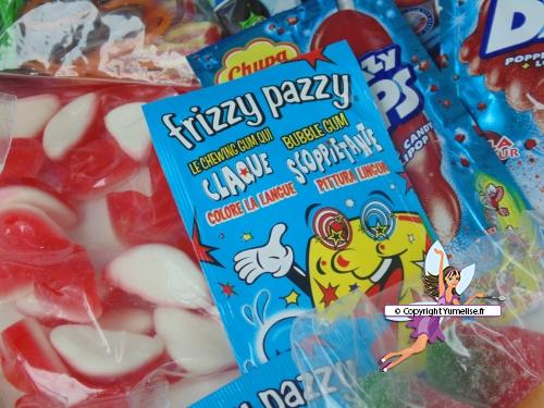 bonbons frizzy pazzy