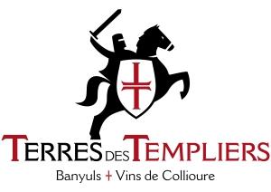 logo Terres des Templiers Vins de Banyuls et Collioure
