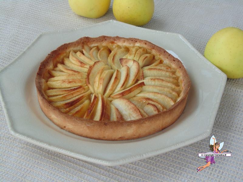 tarte pommes a la une