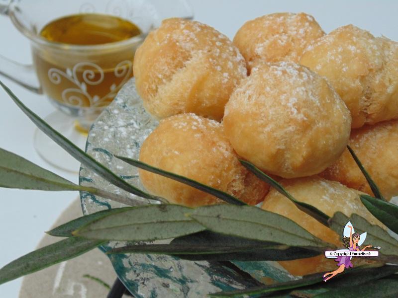 beignet huile olive