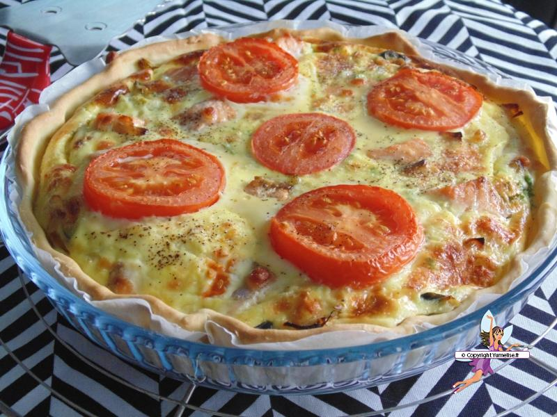 quiche saumon 2