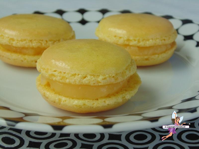 macarons citron 1