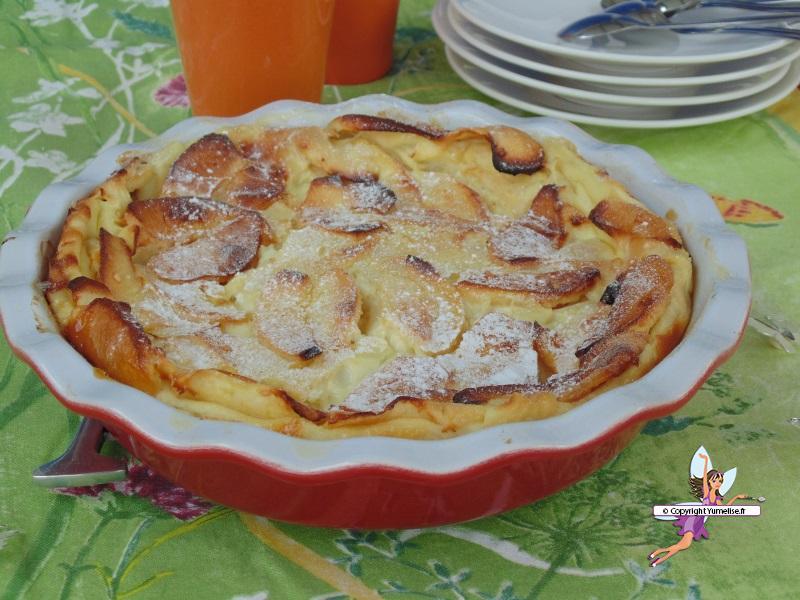 clafoutis pommes 2