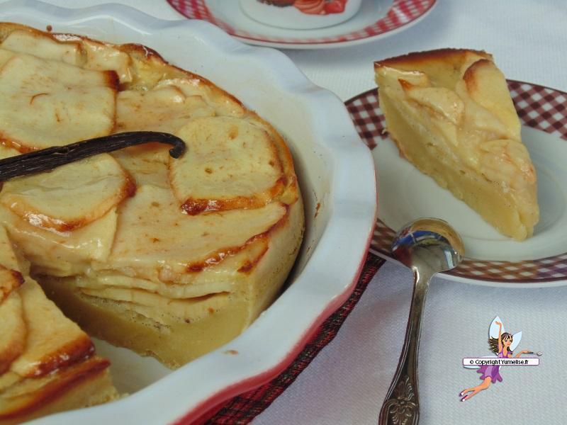 tarte pommes part