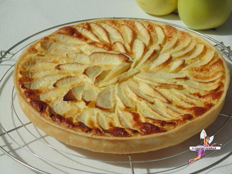 tarte aux pommes et mascarpone yumelise recettes de cuisine. Black Bedroom Furniture Sets. Home Design Ideas