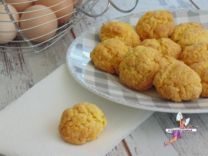 biscuits aux jaunes d oeufs yumelise recettes de cuisine