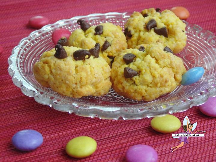 biscuits pepites chocolat