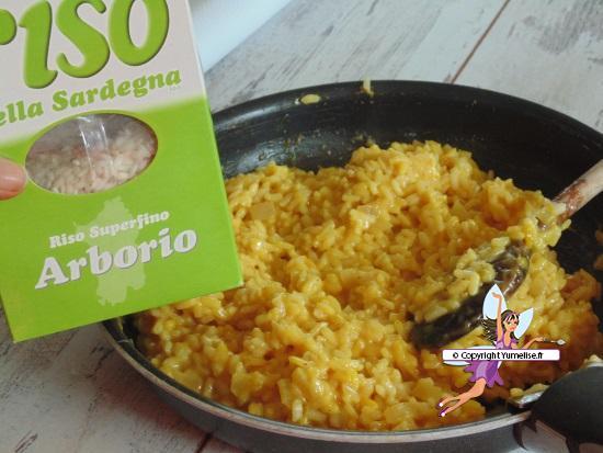 risotto safran sardaigne
