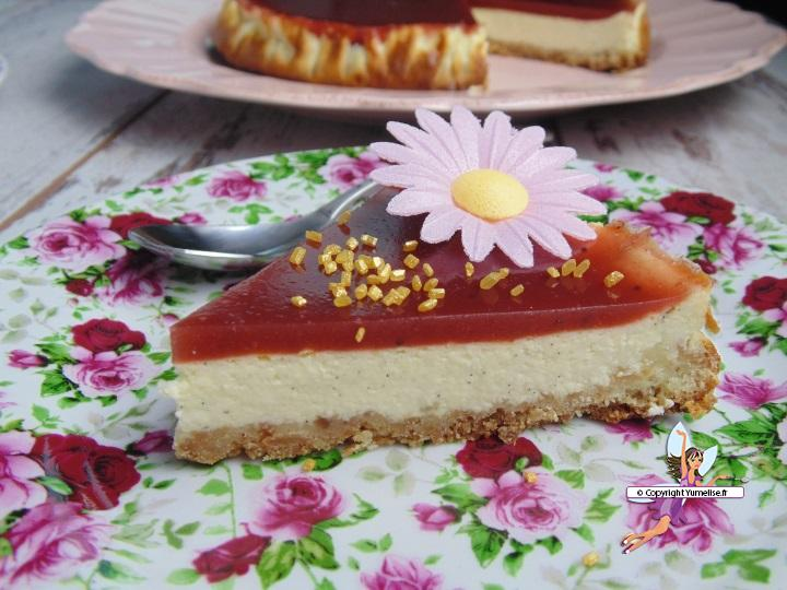 cheesecake fruits rouges