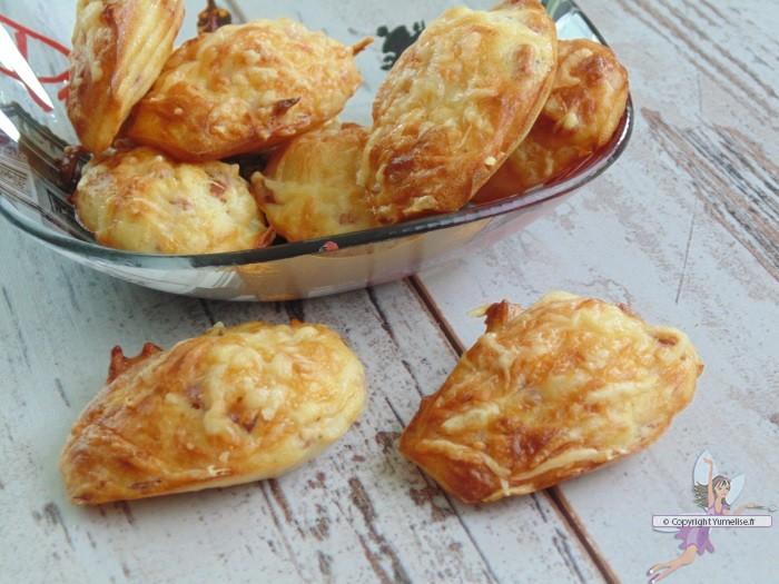 madeleines bacon emmental