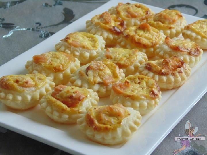 tartelettes saumon
