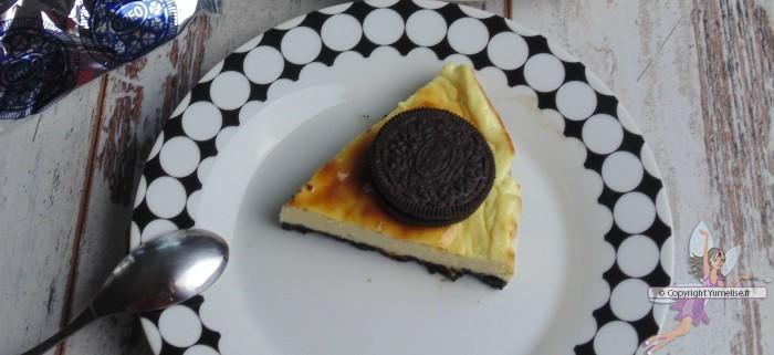 cheesecake oreo dessus