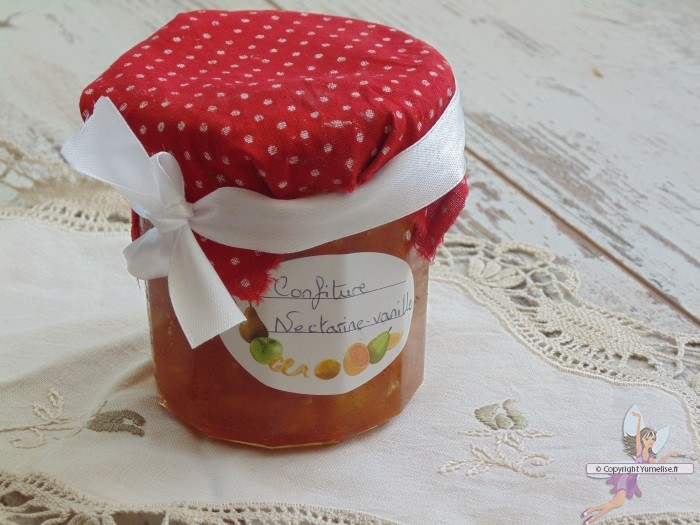 confiture nectarines