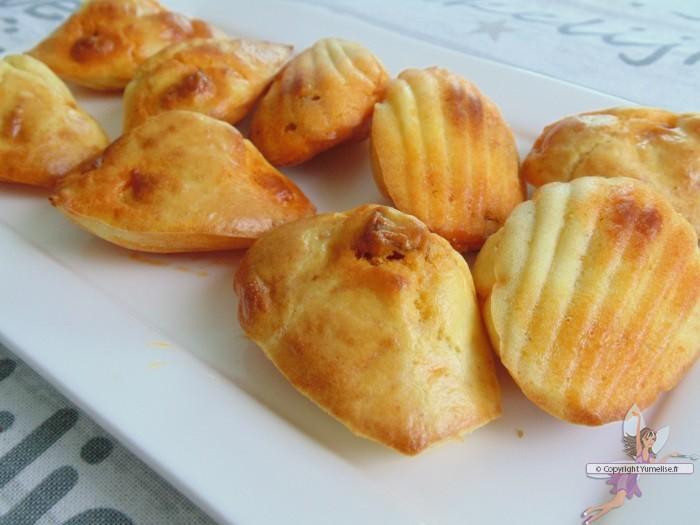 madeleines chorizo