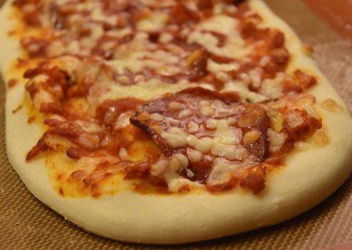 pouilles pizza