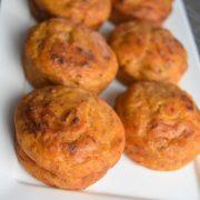 muffins au pesto et au thon