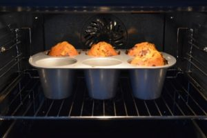 muffins au potiron au four