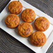 muffins au thon et pesto