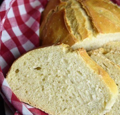 pain cuit sous cloche