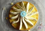 tarte au citron et ganache chocolat blanc