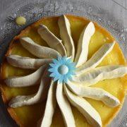 tarte au citron et ganache au chocolat