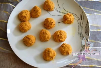 beignets de lentilles épicés