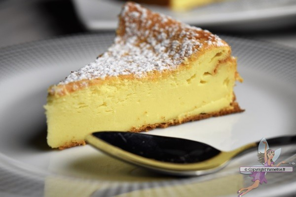 cheesecake au mascarpone en part