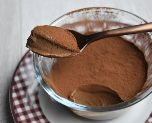 crème au chocolat à la cuillère