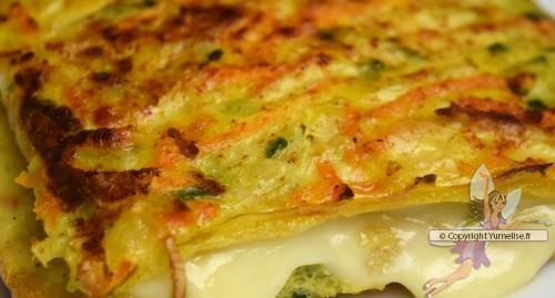 le croque légumes cuit