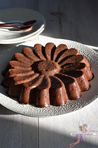 flan et fondant au chocolat