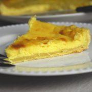 tarte mascarpon et citron part