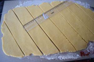 tourtisseaux découpe diagonales
