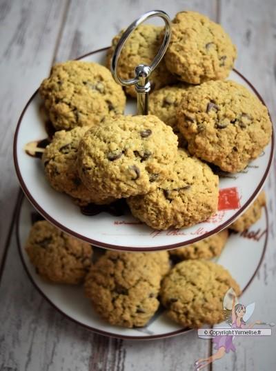 biscuit à l'avoine et aux pépites de chocolat