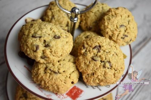 biscuits à l'avoine et chocolat